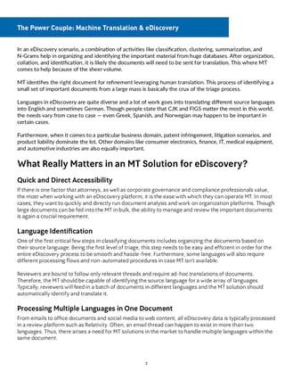 The Power Couple - Machine Translation & eDiscovery_pg2